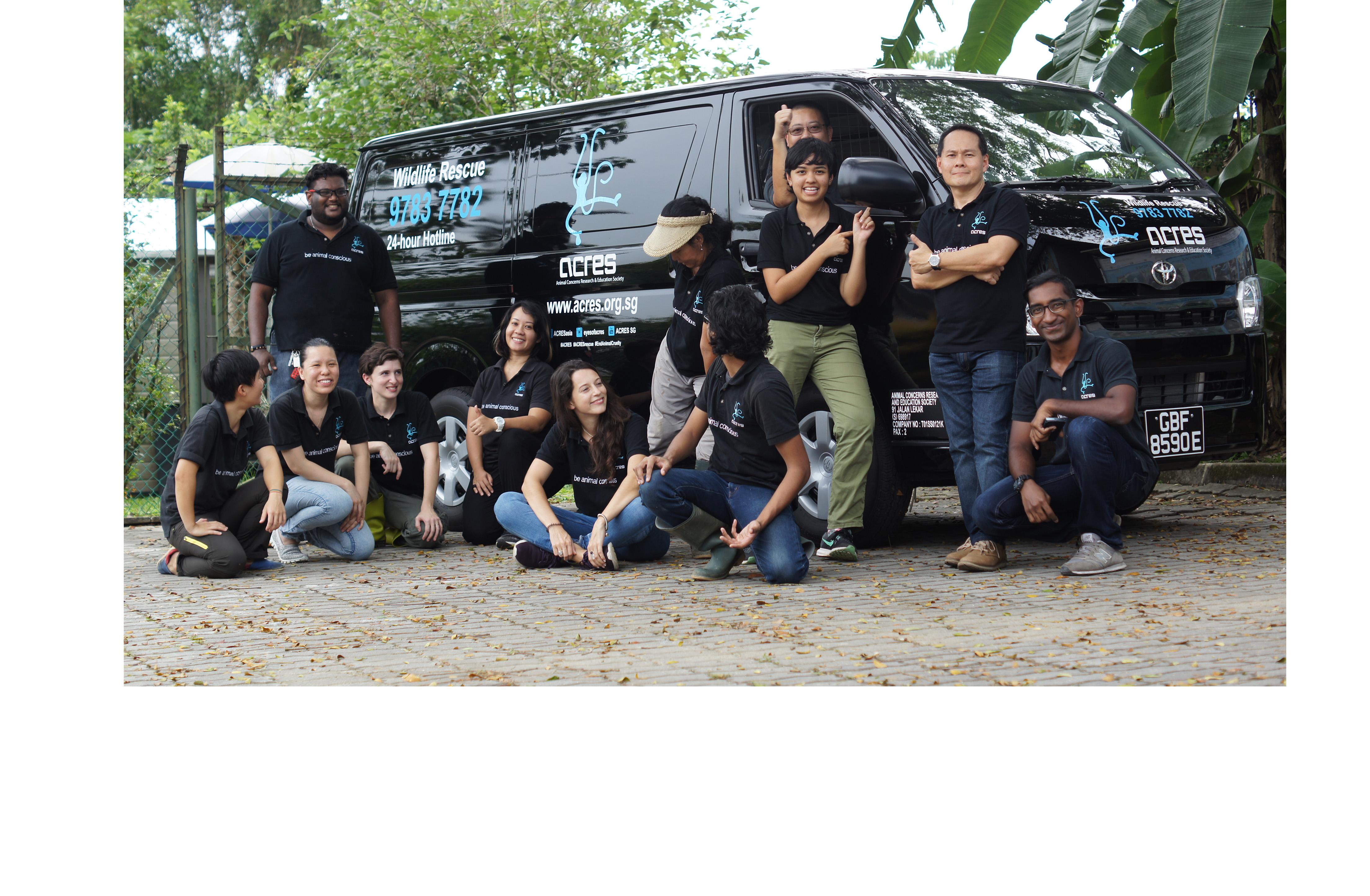 With your help, we now have a new Wildlife Rescue Van!