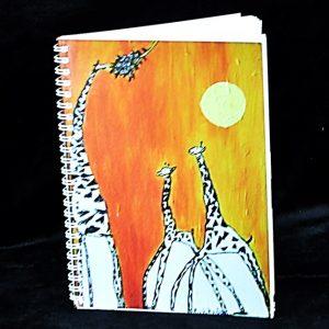 giraffe notebook 1